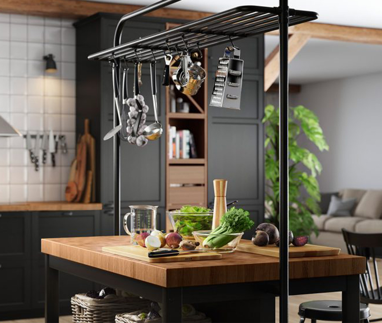 Ikea Kitchen Catalogue 5 Covetable Looks For Small Spaces From Ikea 39s 2019
