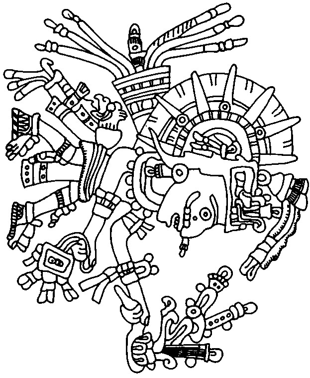 Beautiful Easy Aztec Drawings Easy Aztec Patterns To Draw