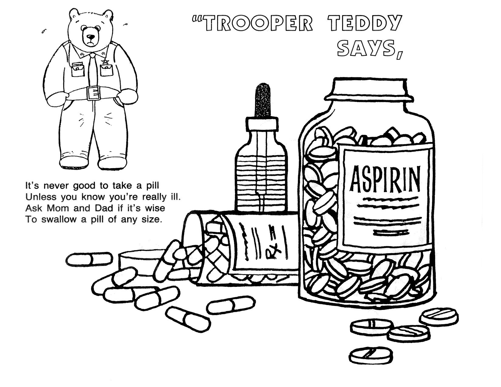 Say No To Drugs Coloring Pages - Costumepartyrun