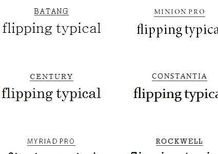 Typography Resources