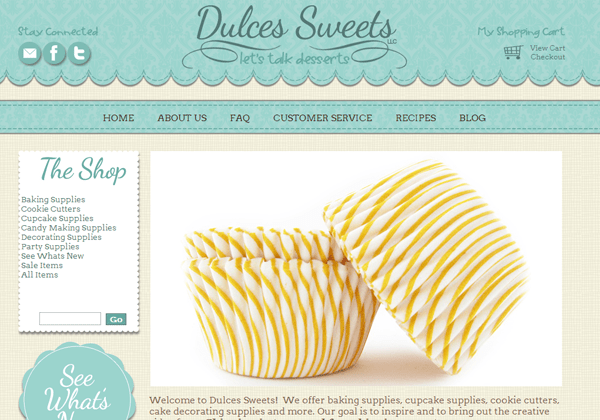 sweets cakes website ui bakery design inspiration