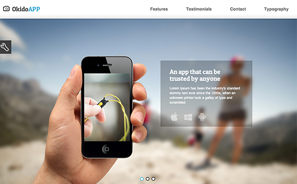 30 Mobile App Landing Page Templates - DesignMag