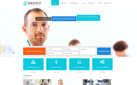 24 Medical and Health Related Themes - Wanderlust Web Design