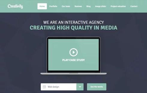 20+ Free Responsive Templates - DesignMag - interactive website template