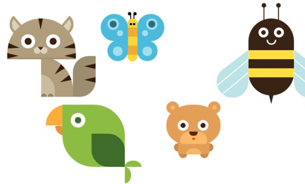 css3 animal vector icons open source
