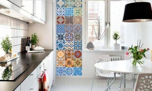 Stickers pour carrelage dans la déco cuisine ou salle de bains