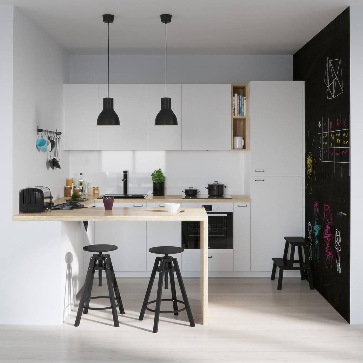 Deco Cuisine Noire | Deco Cuisine Noir Et Beige Idée De Modèle De ...