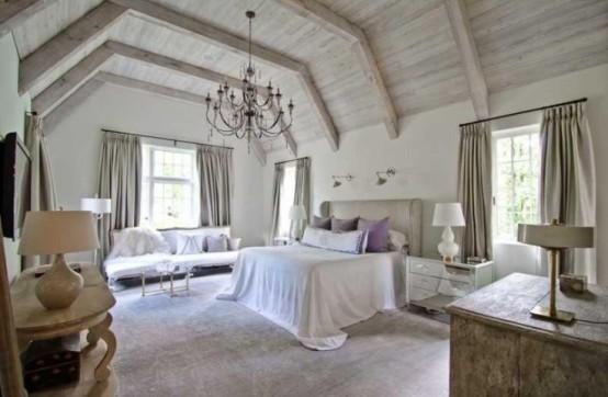 Chambre A Coucher Style Romantique Moderne