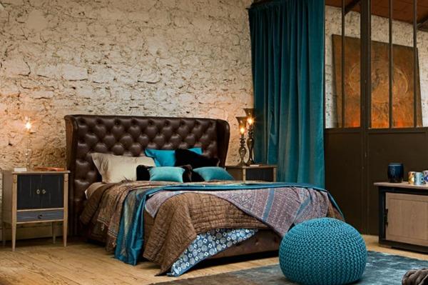 Déco intérieur design la chambre coucher rétro moderne