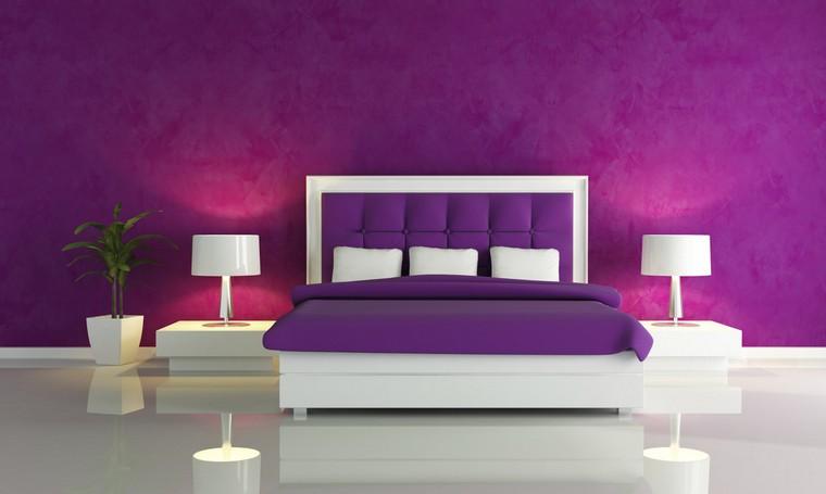 25 idées de décoration chambre violet élégante à découvrir