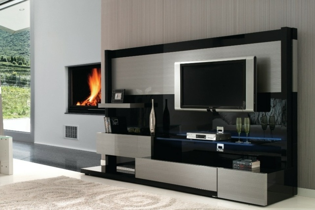 Meuble Bas Salon But Meuble Tv Design : Quelques Exemples Modernes