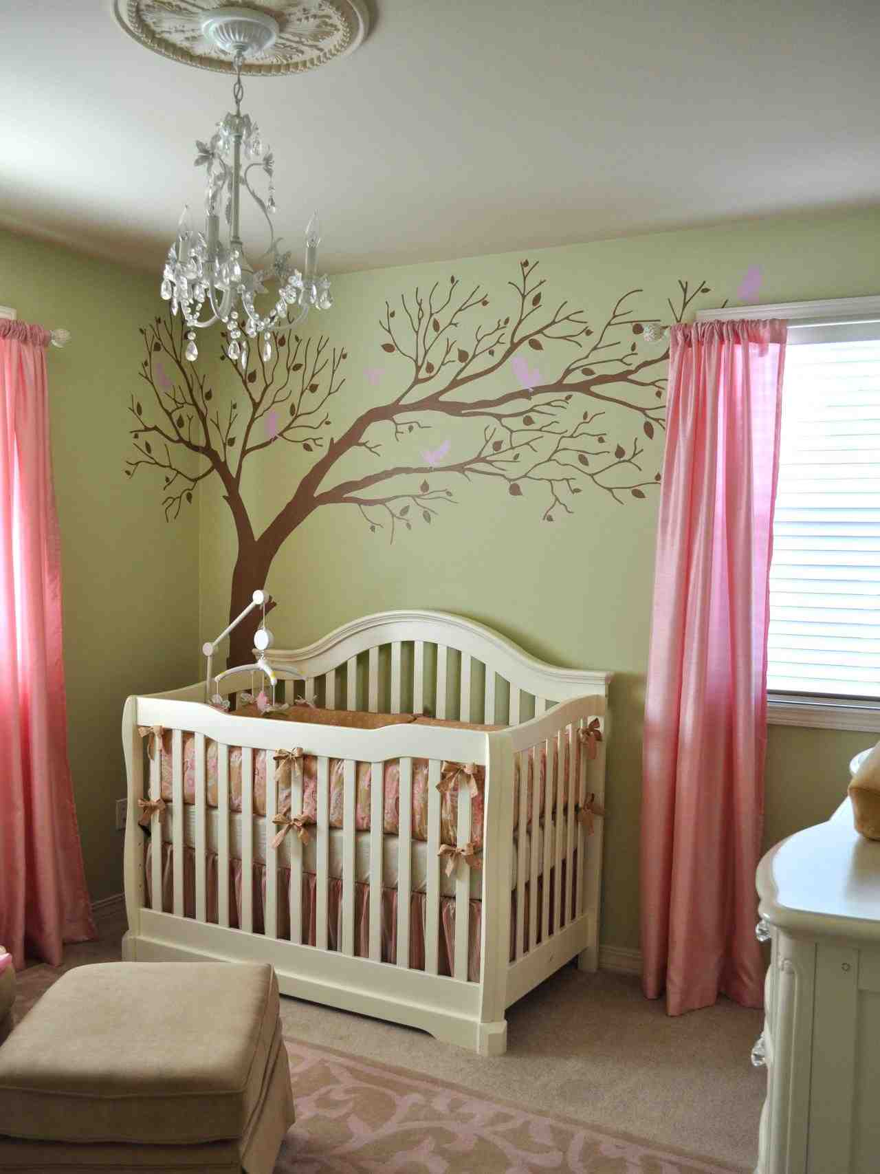 Couleur mur chambre b b how to pick the right colors for a modern nursery design - Couleur mur chambre bebe ...