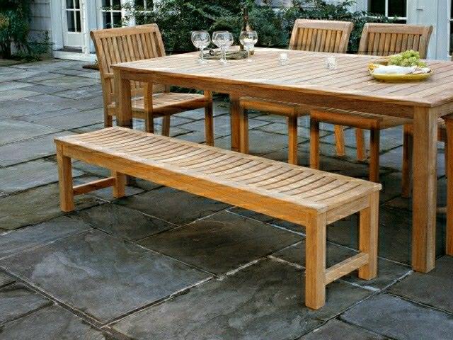Table Exterieur Solide