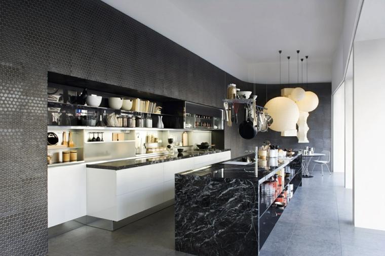 107 idées de îlot central de cuisine fonctionnel et convivial