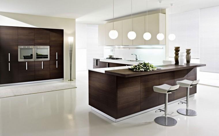 107 idées de îlot central de cuisine fonctionnel et convivial - Cuisine Design Avec Ilot Central
