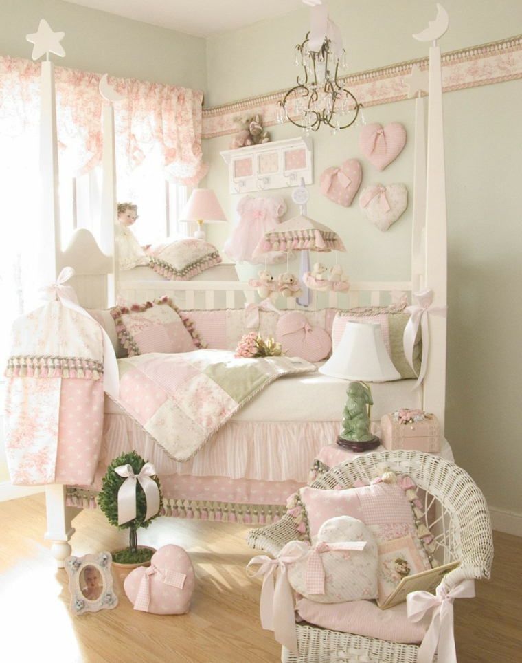 Decoration Chambre Bebe Fille 99 Idees Photos Et Astuces