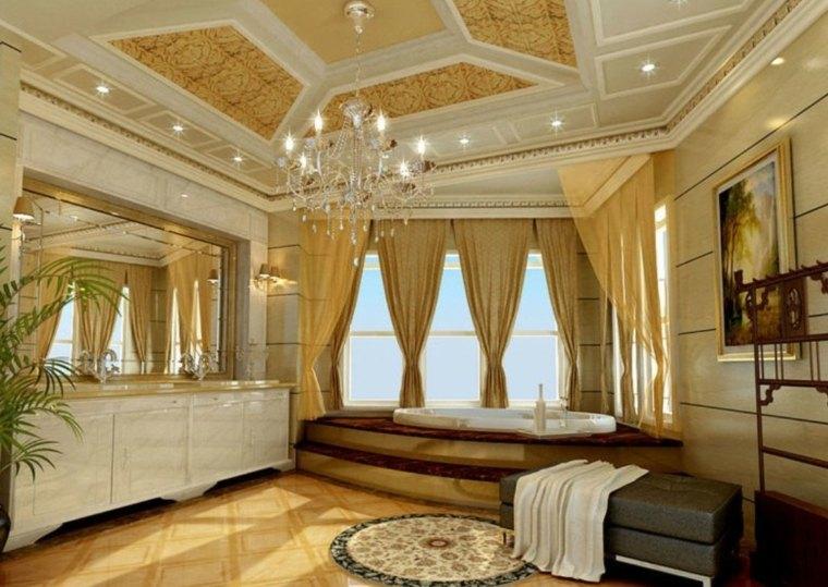 3d Modern Wallpaper For Walls Designs Plafond Salle De Bain Peinture Et Style En 40 Id 233 Es