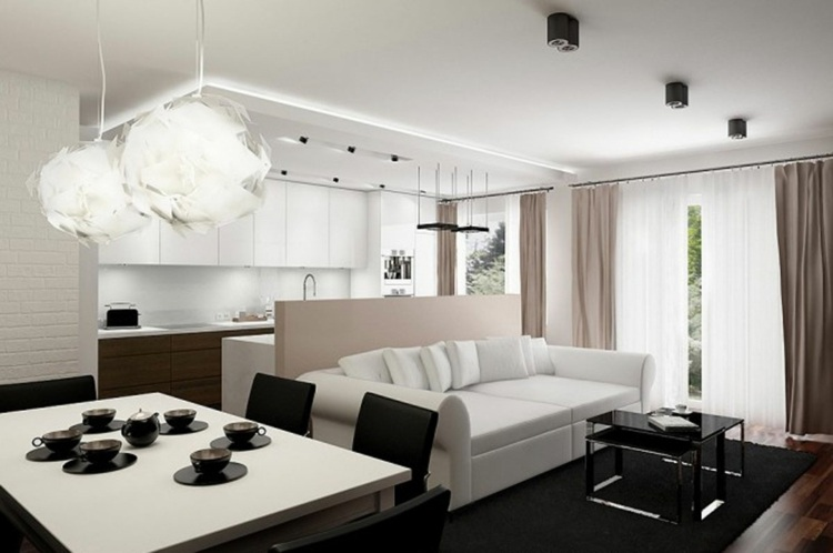 ... Idee Deco Studio 30m2 Meilleur De 83 Photos Ment Amnager Un Petit ...