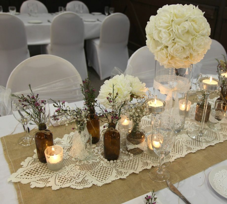 Idee Decoration Table Cremaillere Idee Decoration Mariage Champetre