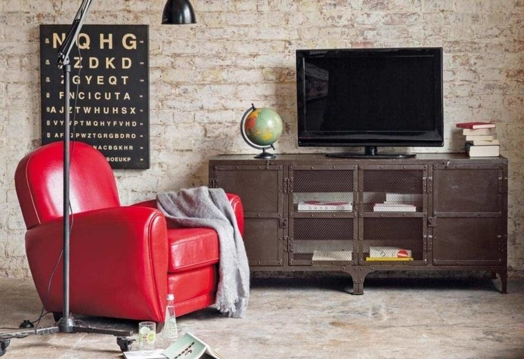 Meuble TV bibliothèque design en 50 idées inspirantes - Meuble Bibliotheque Maison Du Monde