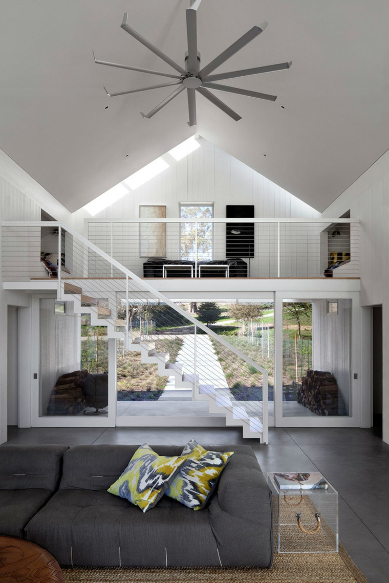 Interieur Design De Maison Maison D Architecte Hupomone Ranch En Californie