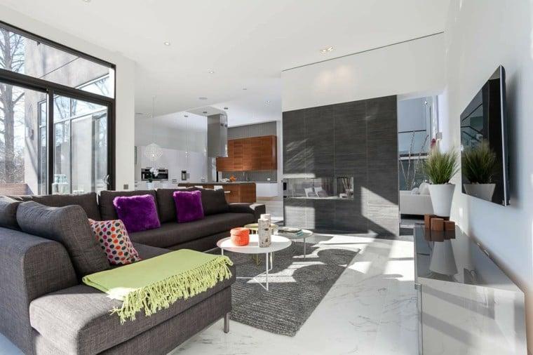 Idee Deco Salon Moderne