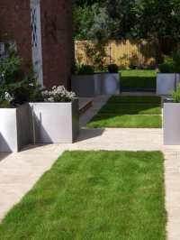 Jardin contemporain et accueillant pour le printemps en 50 ...