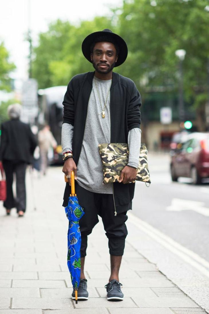 londres mode rue street style homme tendance vetements