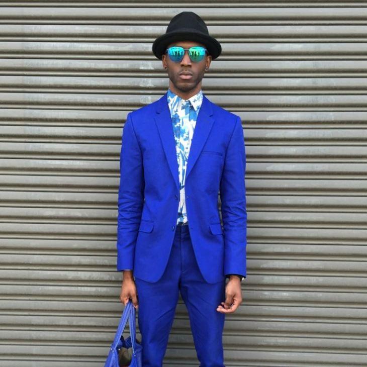 tendance mode homme printemps été 2016 costume bleu