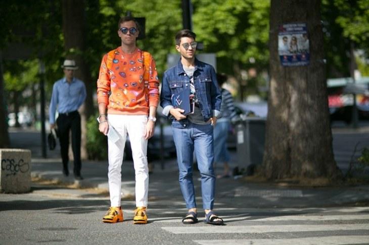 mode tendance printemps été veste jeans idée sweat