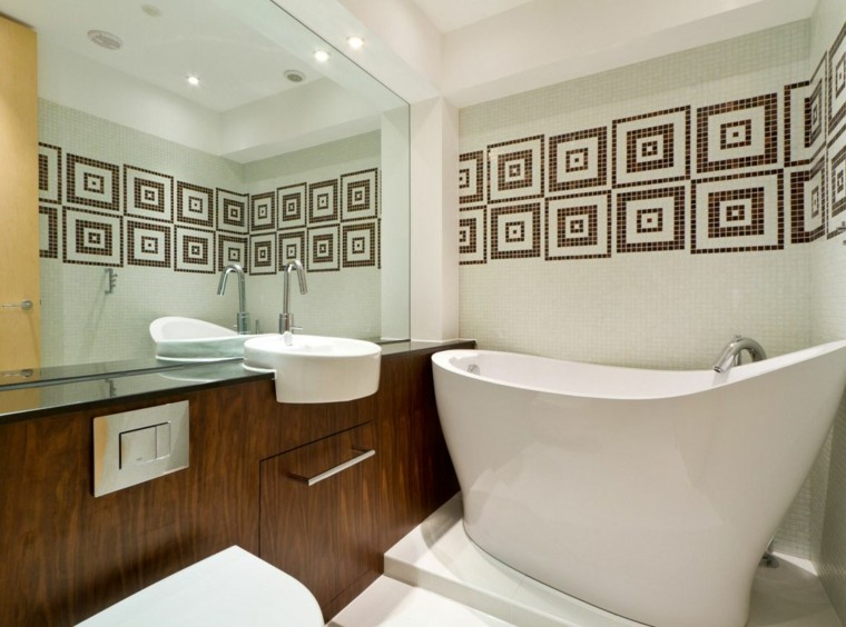 Petite salle de bains moderne en 39 exemples inspirants