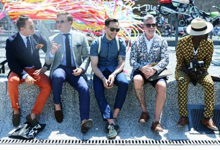 mode homme trendy costume idée pantalon cravate