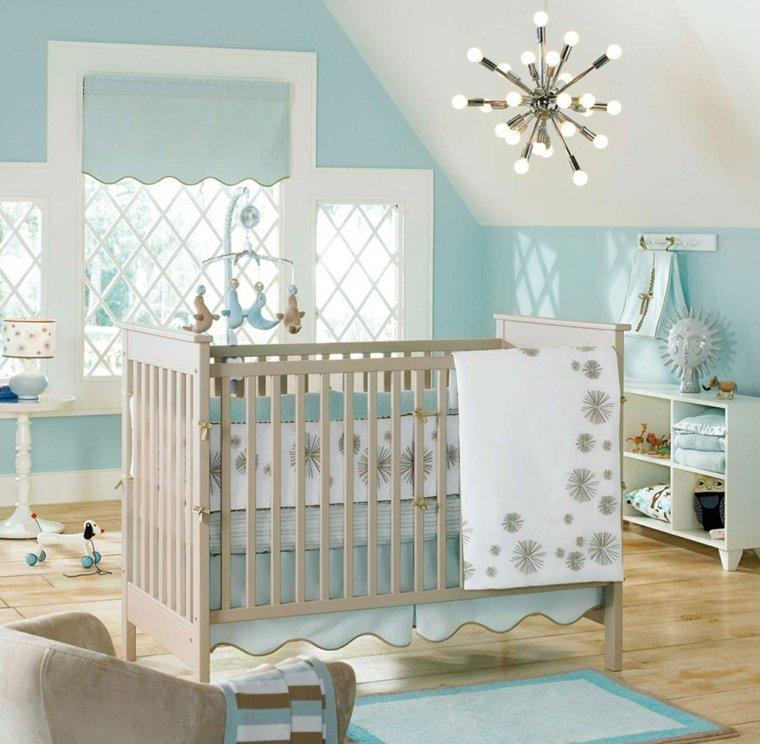 Déco de la chambre bébé fille sans rose en 25 idées super