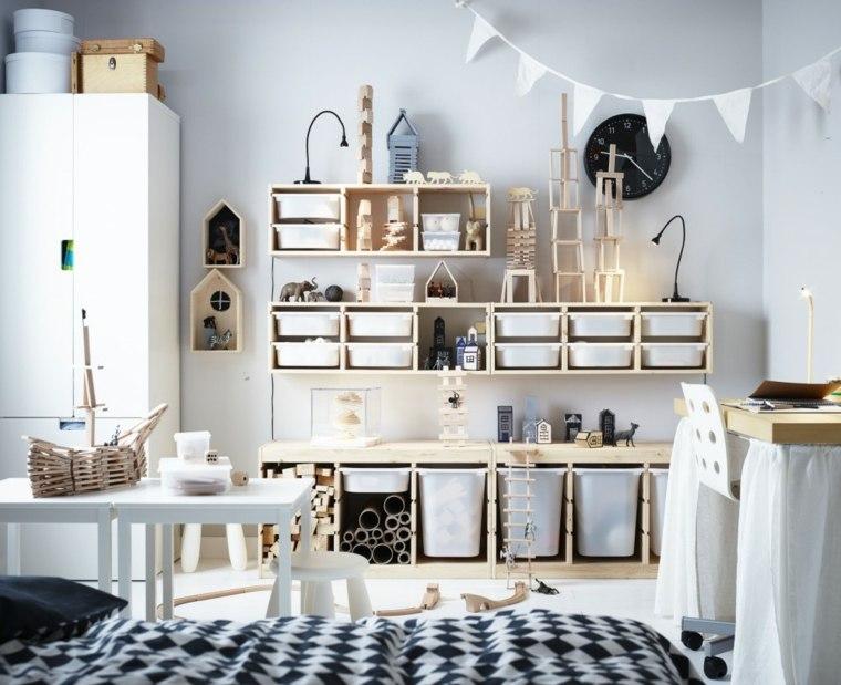 Idées en images meuble de rangement chambre enfant