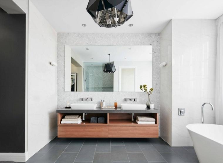 Salles de bain  30 idées d\u0027aménagements tendance