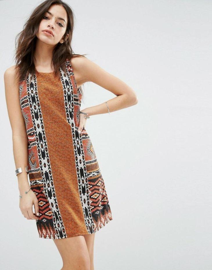 mode 2016 femme été printemps tendance tenue robe droite