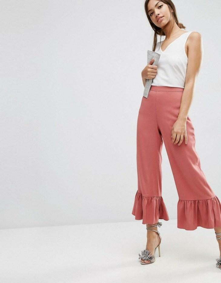 mode 2016 femme été printemps pantalon patte éléphant escarpins mode femme