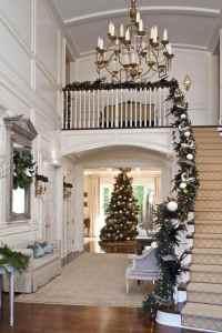 Nol dco escalier : ornements magnifiques pour l'intrieur