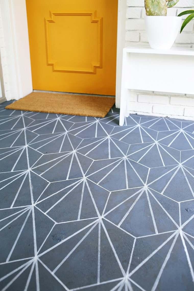vinyl imitation carreaux ciment brillant tapis et sets beija flor en vinyl imitation carreaux de. Black Bedroom Furniture Sets. Home Design Ideas
