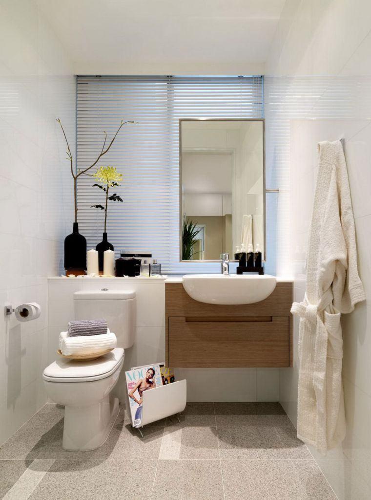 Petite salle de bain  49 idées d\u0027aménagement fonctionnel et confortable