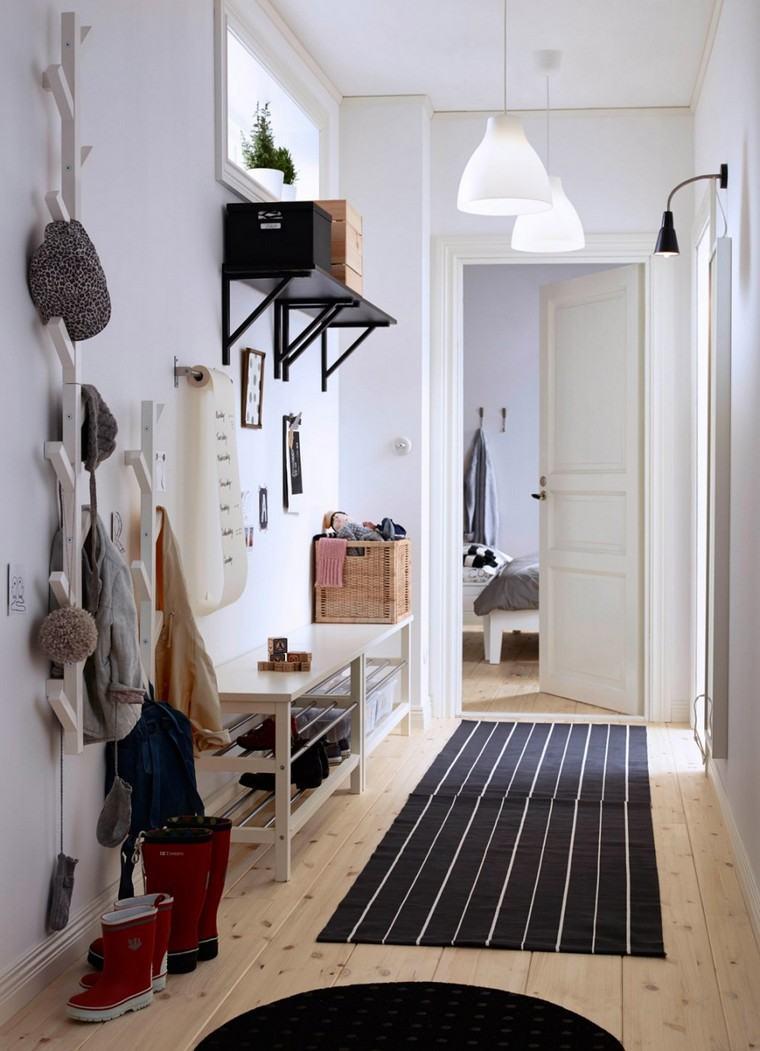 Idee Deco Couloir Peinture | Deco Couloir Gris
