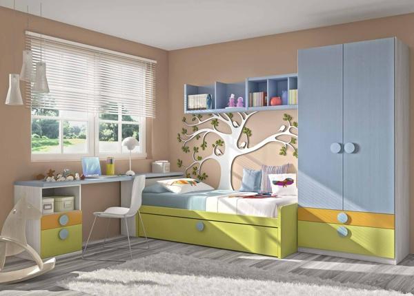 40 idées pour une chambre d\u0027enfant peinte en couleurs vives