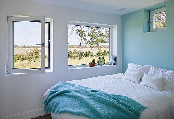 Chambre adulte avec couleurs relaxantes