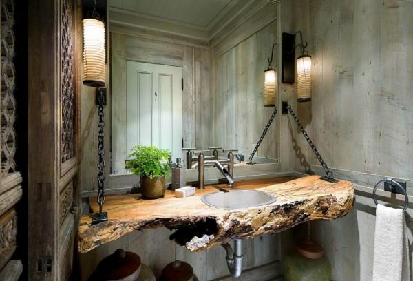 28 idées originales de meuble de rangement salle de bain