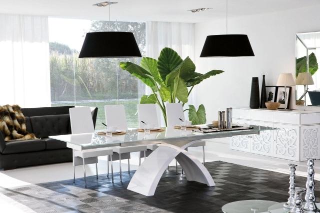 Table salle à manger extensible et design en 35 images