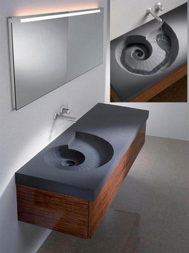 Meuble Salle De Bain Double Vasque Noir