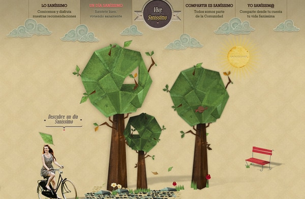 Crafty Multilayerness - Scrapbook Style in Web Design - Designmodo