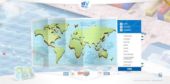 Clever Use of Maps in Website Design - Designmodo