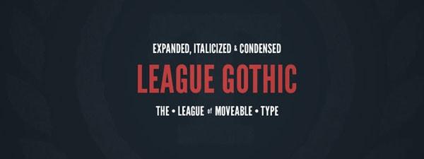 League Gothic