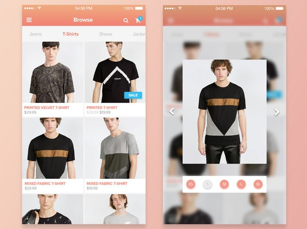 Shopping Peek - 3D Touch by Paul van Oijen
